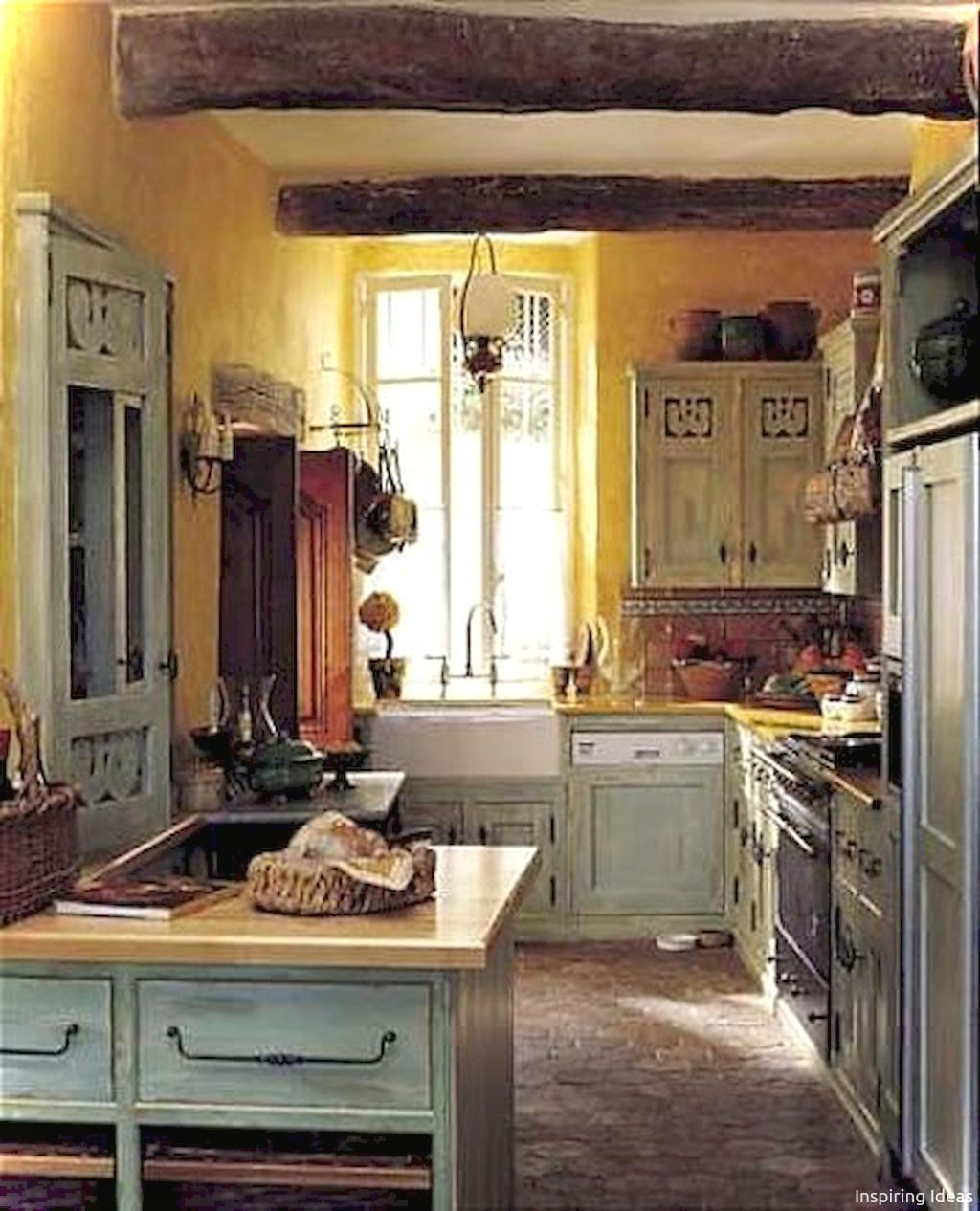 Kitchen Cabinets French Country Style: Small Kitchen French Country Style Ideas39 In 2019