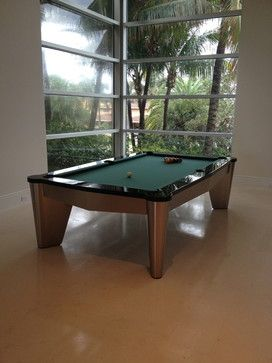 EXCALIBUR Pool Tables   Modern   Family Room   Miami   Mitchell * Exclusive  Billiard Designs