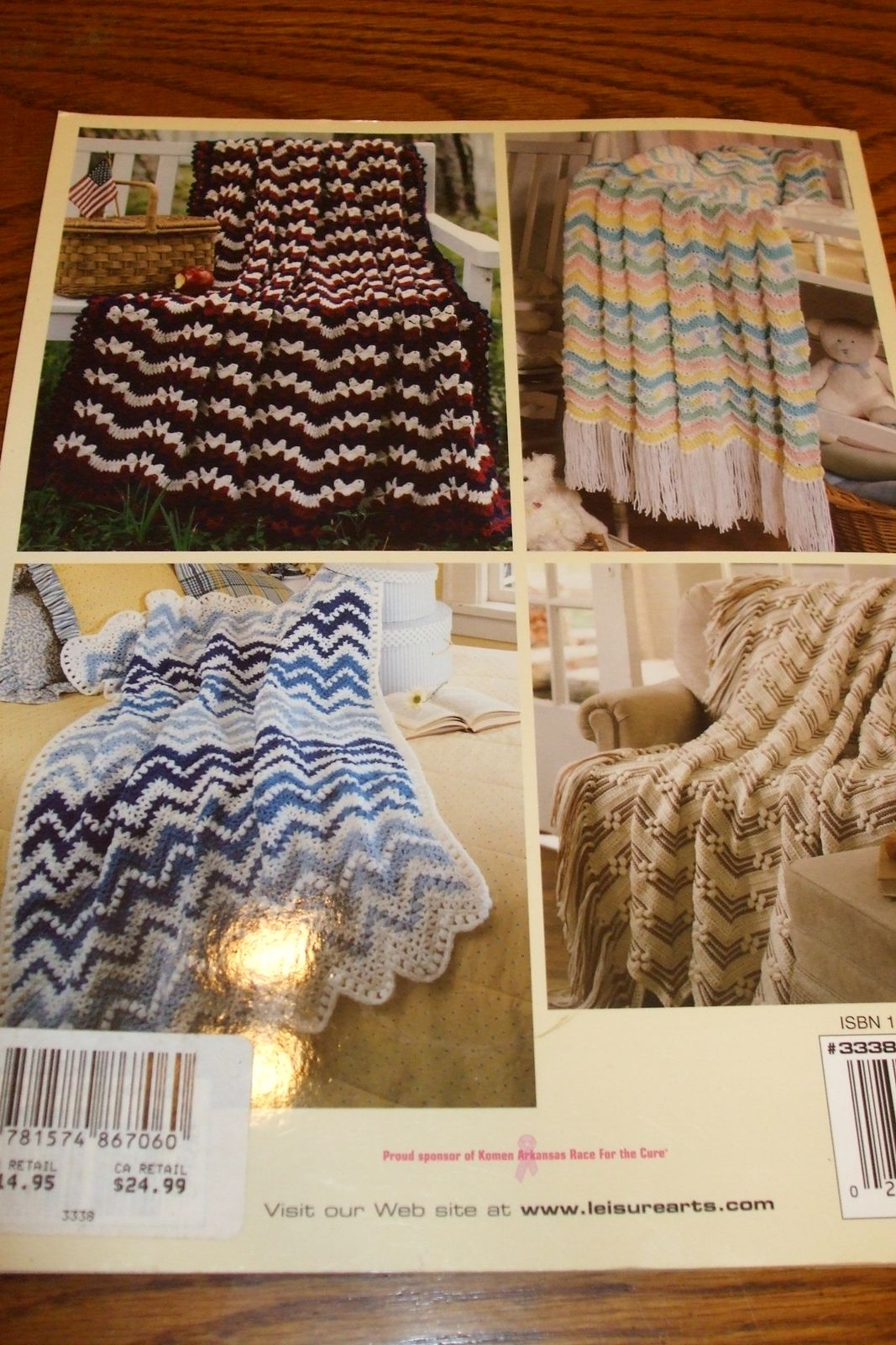 Second silver favorite ripple afghans 40 crochet patterns second silver favorite ripple afghans 40 crochet patterns leisure arts crochet with heart magazine bankloansurffo Choice Image