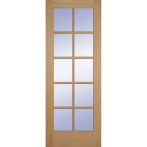Bon 15 Panel Glass Interior Door