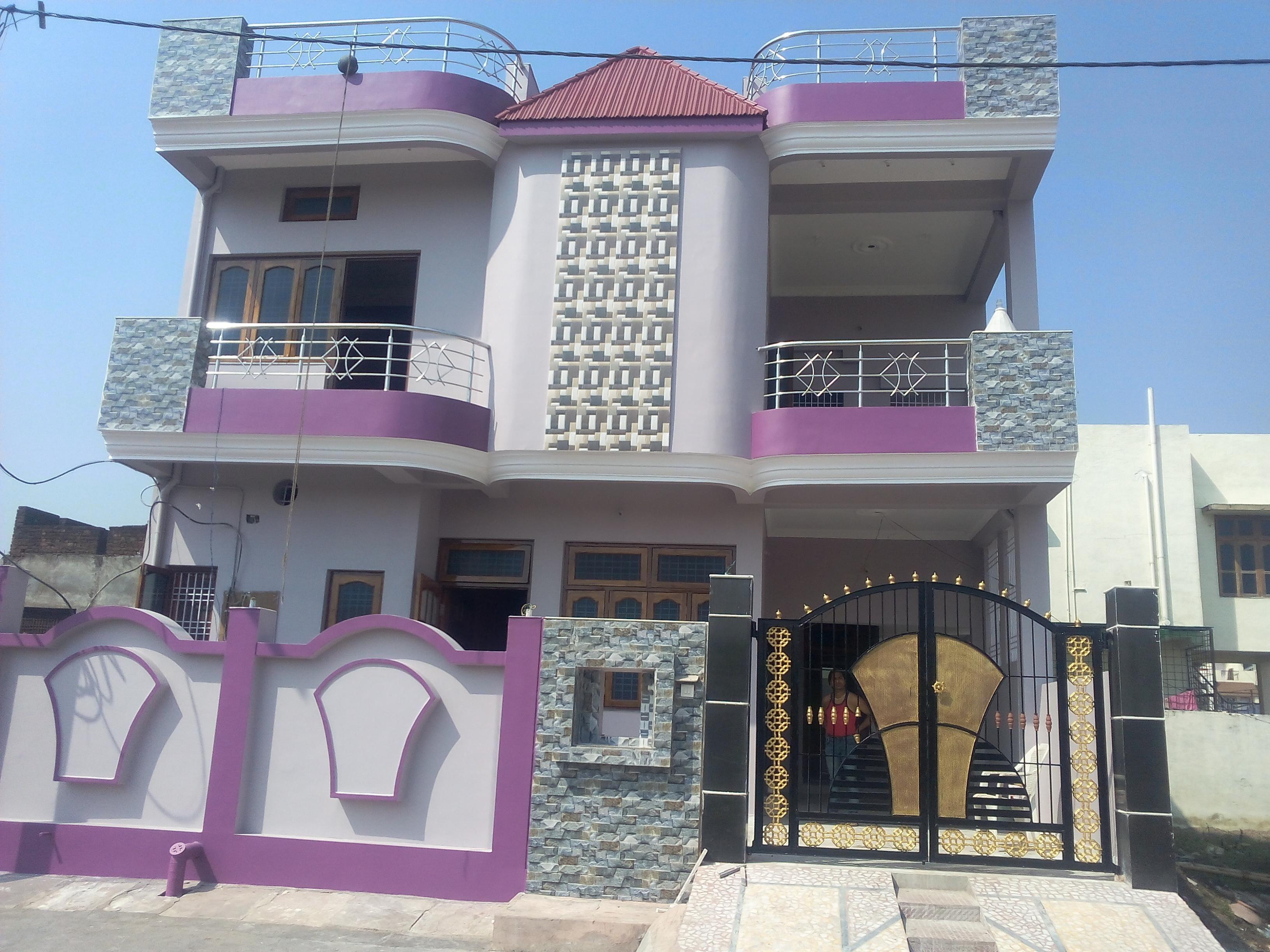 top 30 40 house elevation photos. Front Elevation of 30  Fachada Portas Port es Grade Ferro