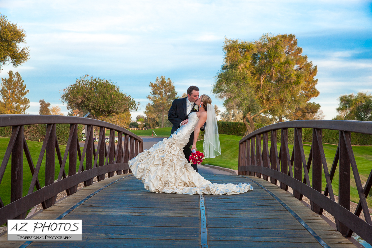A On One Of Our Bridges At Ocotillo Golf Resort