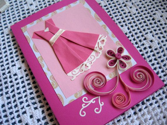 How to make Cute dress greetings card - Skill Flair-Easy Craft | 428x570