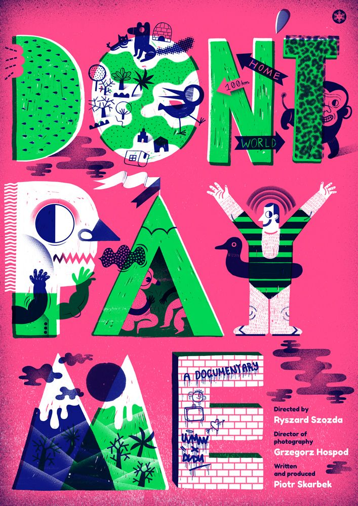 posters 2014 by agata dudu dudek via behance love the insanity and the craziness going on here tlb is somewhere crazy and insane too - Poster Designs Ideas
