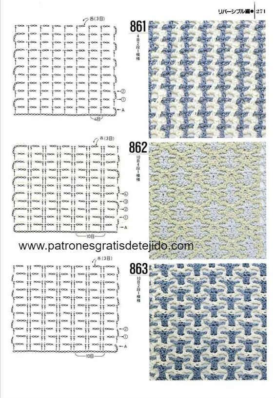 Patrones de crochet interlocking | Crochet | Pinterest | Crochet