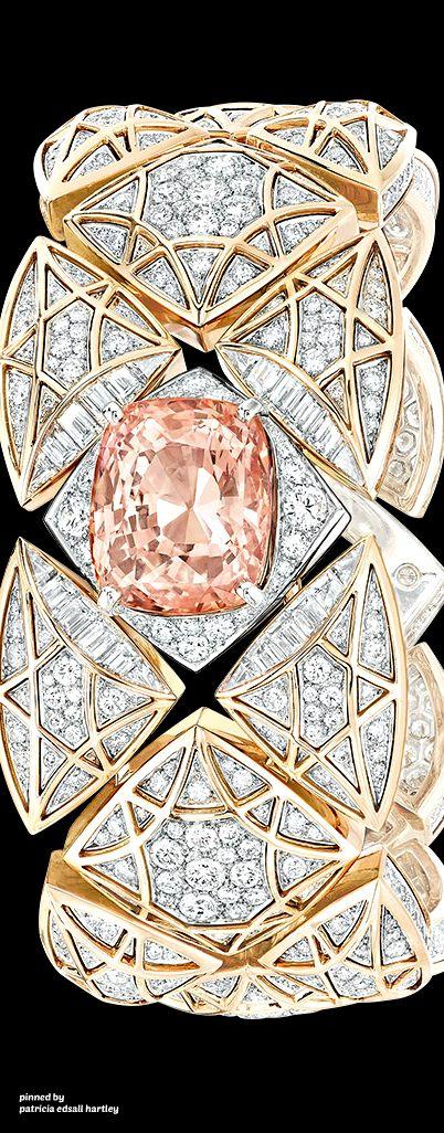 "Rosamaria G Frangini | High Pink Jewellery | Chanel Secret Cuff Watch - ""Signature Saphir"""