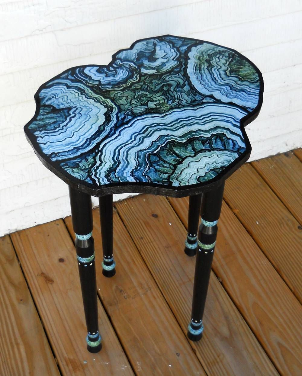 My Table Project Faux Agate