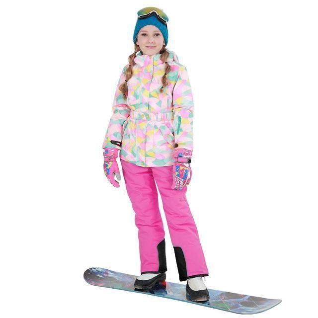 42cd5f0cb DETECTOR Winter Outdoor Girls Ski Suit - Kid's | Kids Snow Gear ...