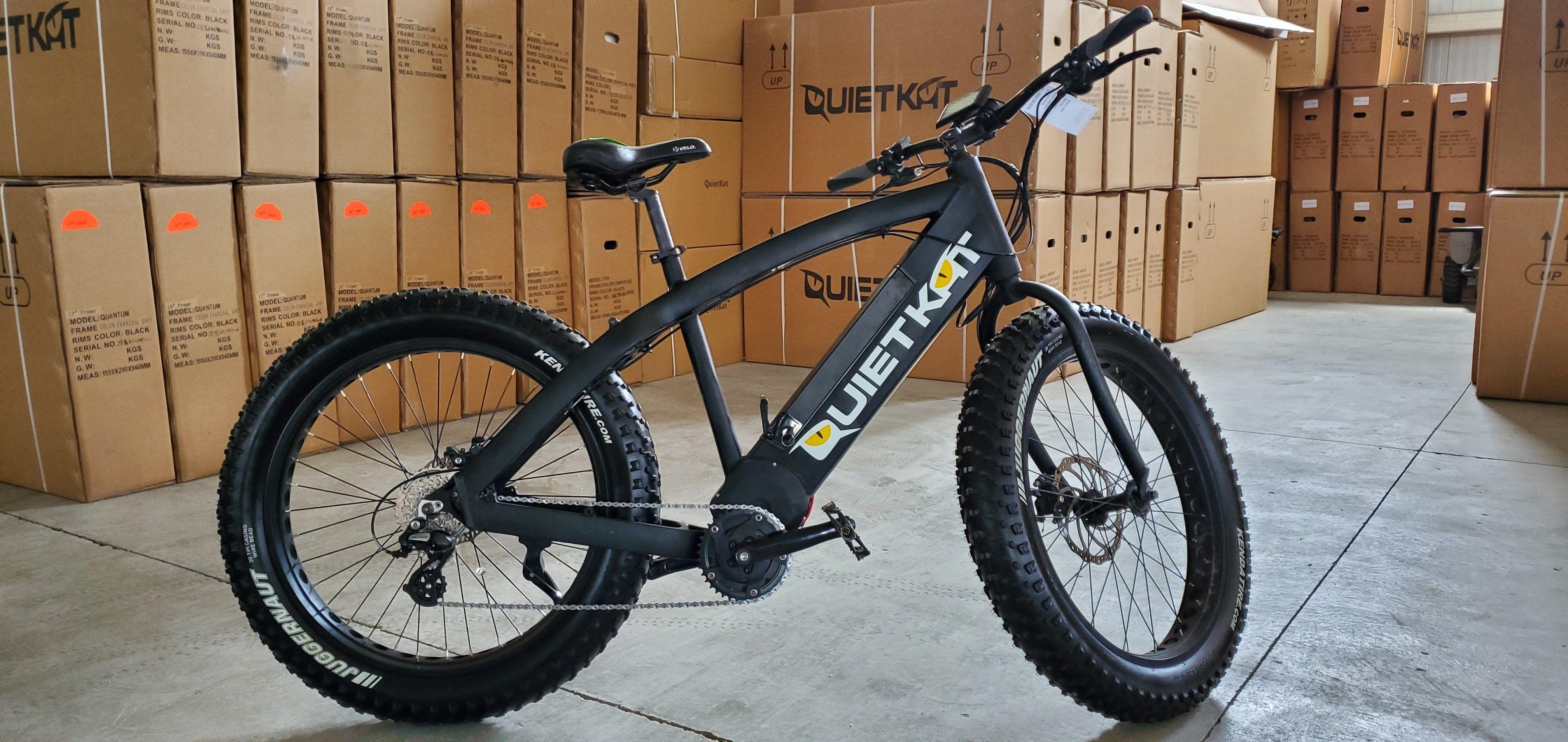 Quietkat 2017 Ranger Electric Mountain Bike Qkeco 750 Demo 803