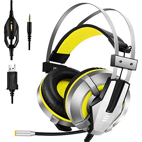 EKSA Gaming Headset for PS4, PC, Xbox One Controller
