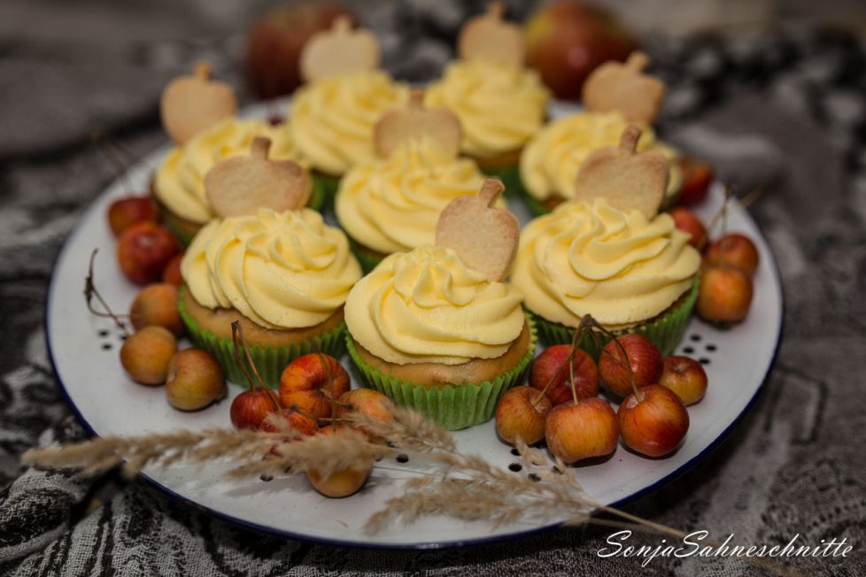 Apfel-Cupcakes #apfelcupcakes