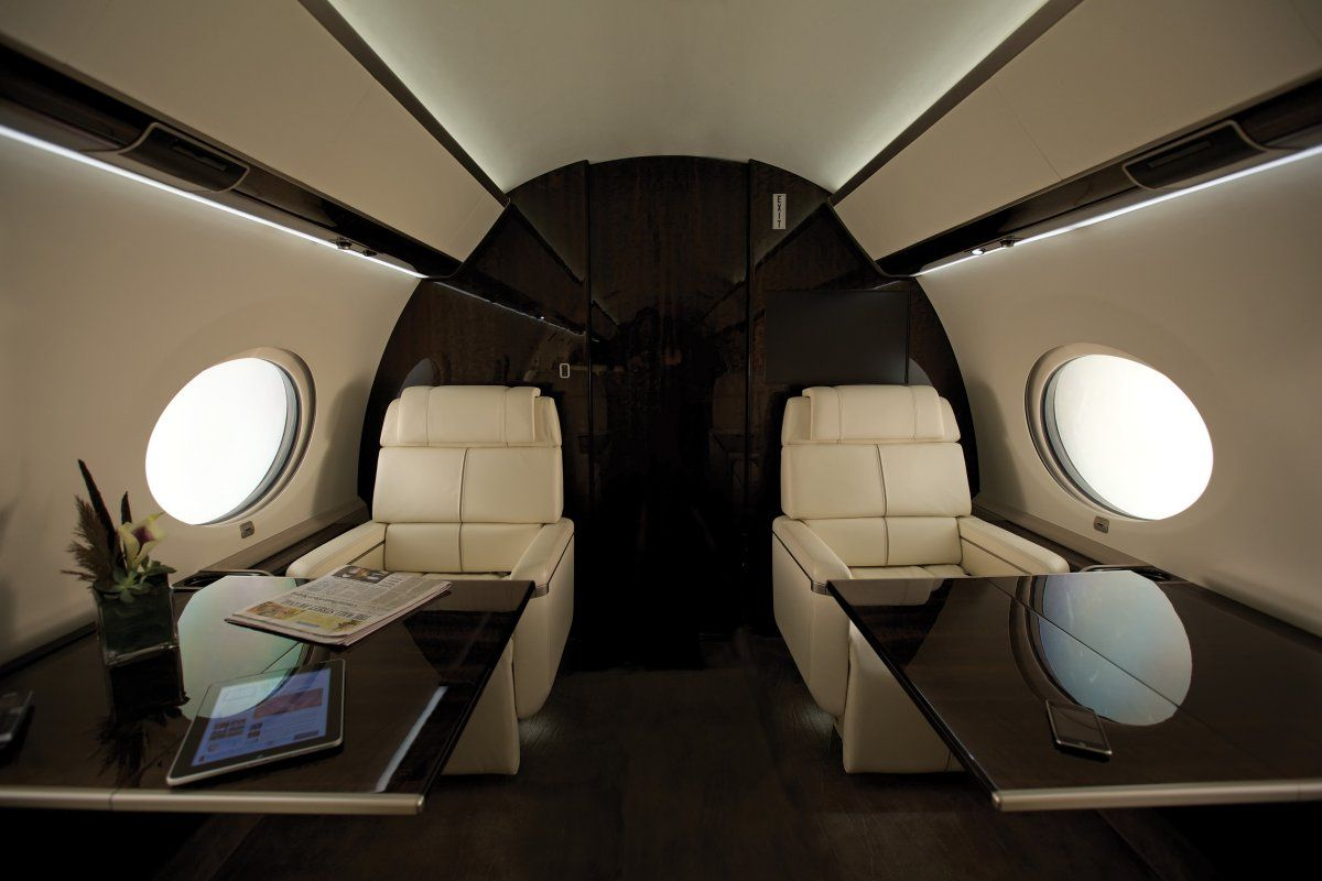 It Has Room For Eight Passengers And A Crew Of Four Gulfstream G650 Gulfstream Private Jet