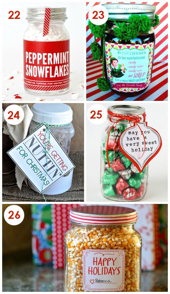 101 Quick and Easy Christmas Neighbor Gifts | selbstgemachtes ...