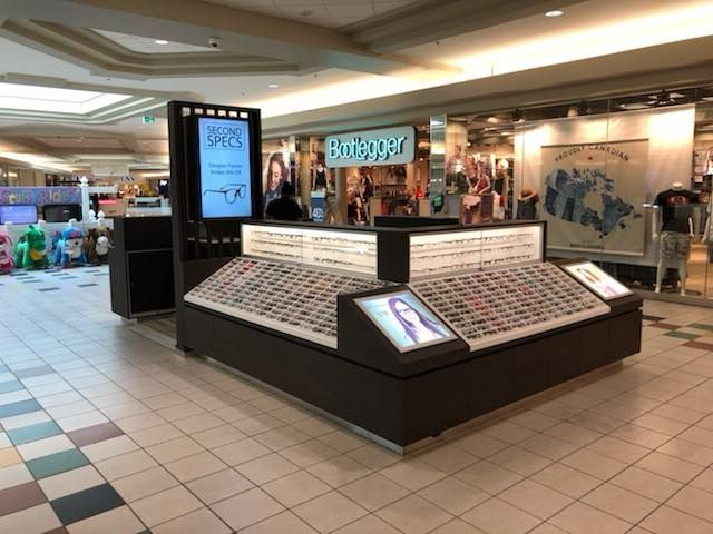 Check out our fixtures at Second Specs in St Albert Mall! We love working with local retailers :) - -