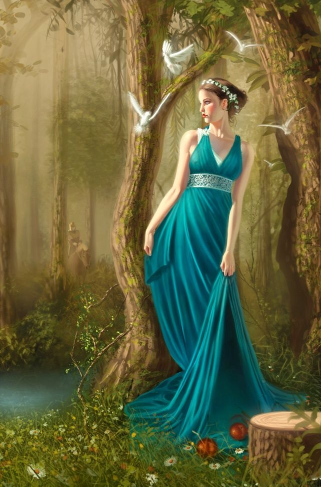 Persephone Was The Goddess Queen Of The Underworld Wife Of The God