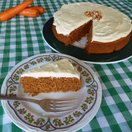 Carrot Cake Sin Gluten Receta Pastel De Zanahoria Tarta De Zanahoria Postres Saludables
