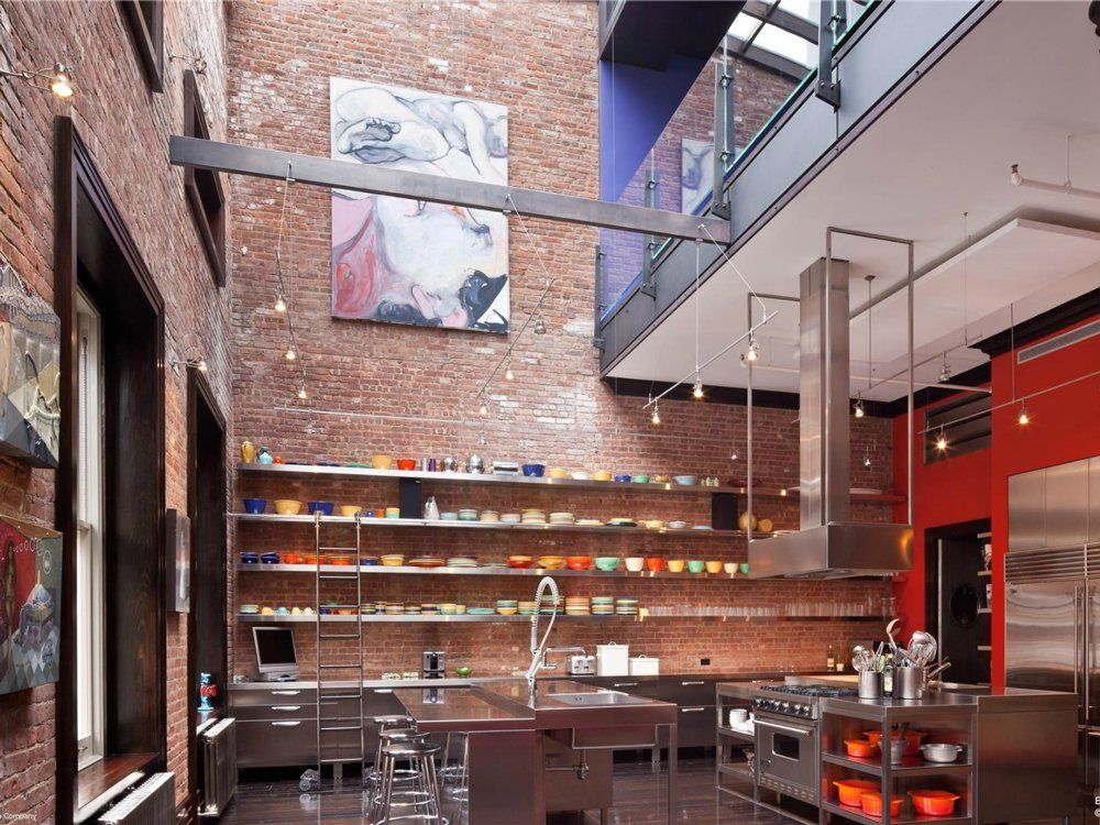 House of the day a 6 story tribeca loft with an indoor basketball court is on sale for 45 million