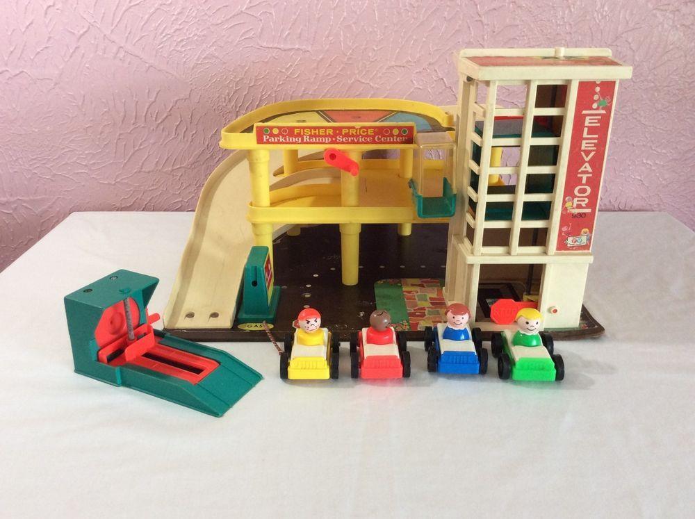 Little People Garage : Fisher price little people spielzeug auto garage in rheinland