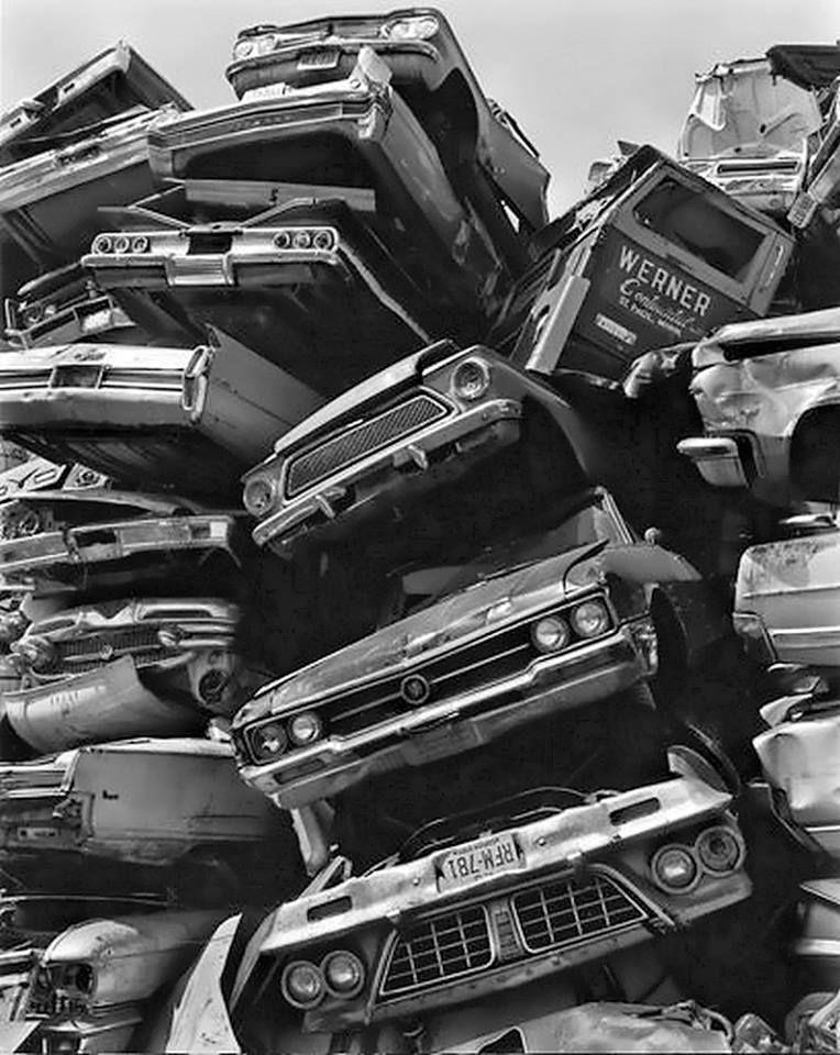 Idea by richard Tutterrow on Car crash in 2020 Junkyard