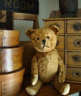 old bear...