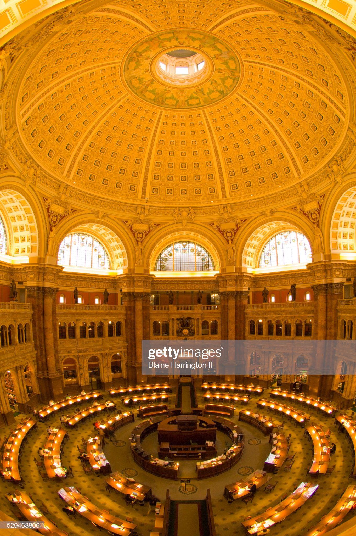 Main Reading Room Of Thomas Jefferson Building At Library Of Congress Reading Room Thomas Jefferson Library Of Congress