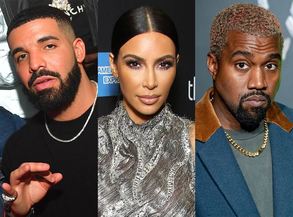 Kanye West Reignites Feud With Drake After Learning He Followed Kim Kardashian On Instagram Drake Feud Inst Kanye West Kim Kardashian Ig Kim Kardashian