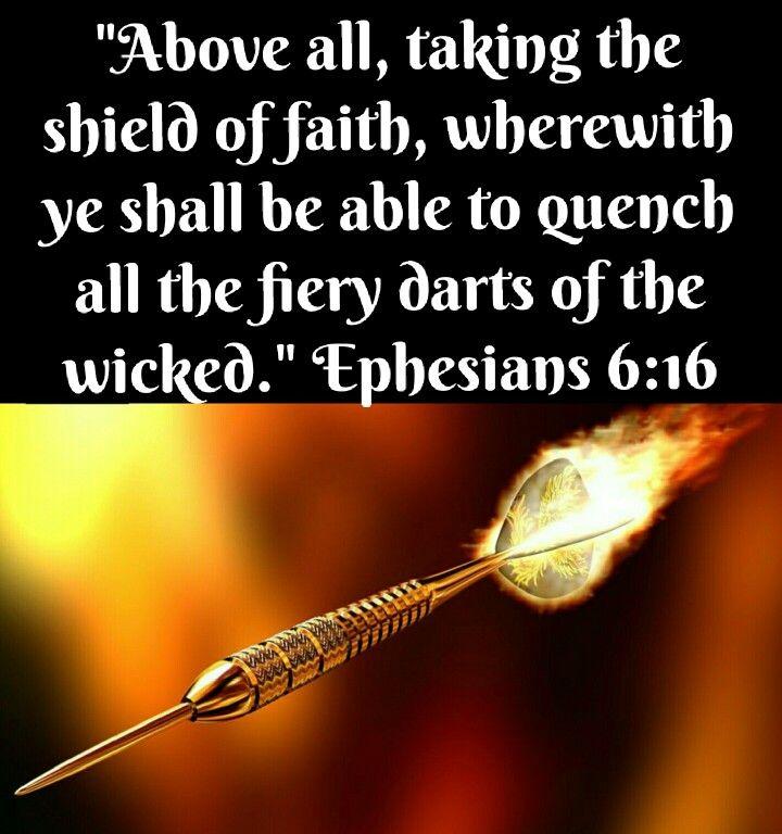 Image result for Shield of faith kjv