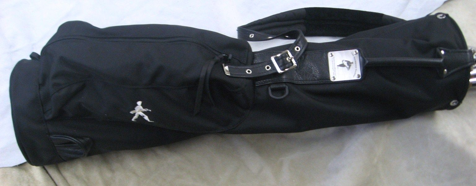 The Walking Golfers Society – The Mackenzie Walker Sherpa Golf Bag (Ballistic Nylon).