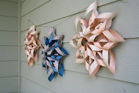 April Kennedy...My Life + My Style: Happy Memorial Day + Paper Starburst Flower Tutorial
