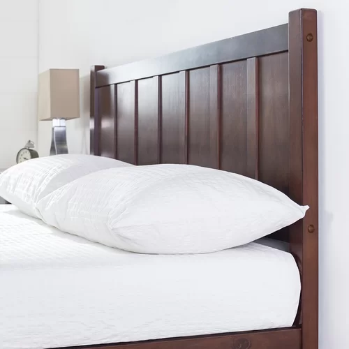 Talia Rustic Style Platform Bed Platform bed, Bed, How