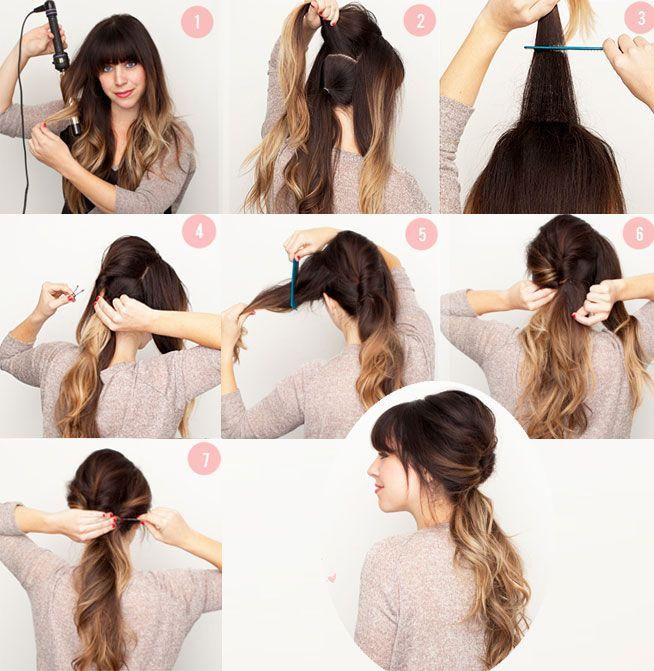 Diy Peinados Y Recogidos Hair Style Pinterest Cabello