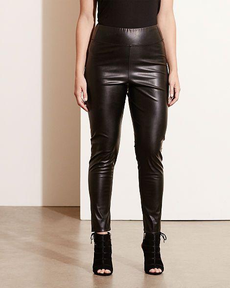 4d8ebb0d45108d Ralph Lauren - Faux-Leather Legging -Black | Diane's Dress Pants ...