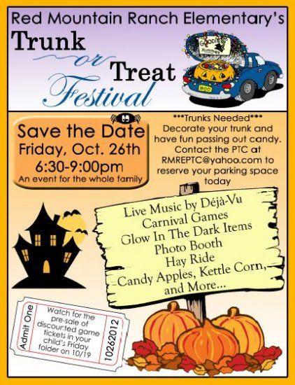 trunk treat flyer example