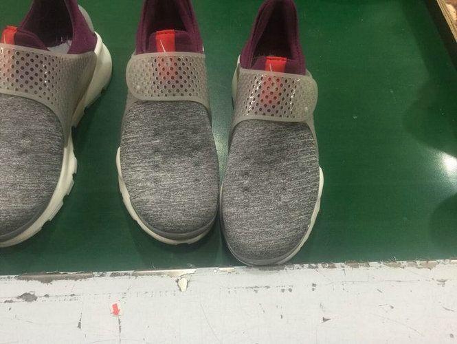 buy popular 9587b f6e61 Chaussures pas cher course New Arrival 2017 Running Shoe Nike Sock Dart  Oreo Slip On Grey