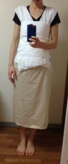 着物習い始めて、半年。 きれいに着るには補正が大事!と気づいて、 タオル補正を作りました。(胸の補正>>、 腰の補正>>)  が、  それに飽...