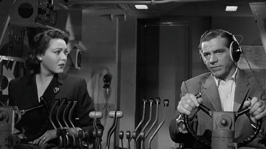 Zero Hour , 1957, Dana Andrews ., Linda Darnell,   Old movies, Movie  scenes, Dana andrews