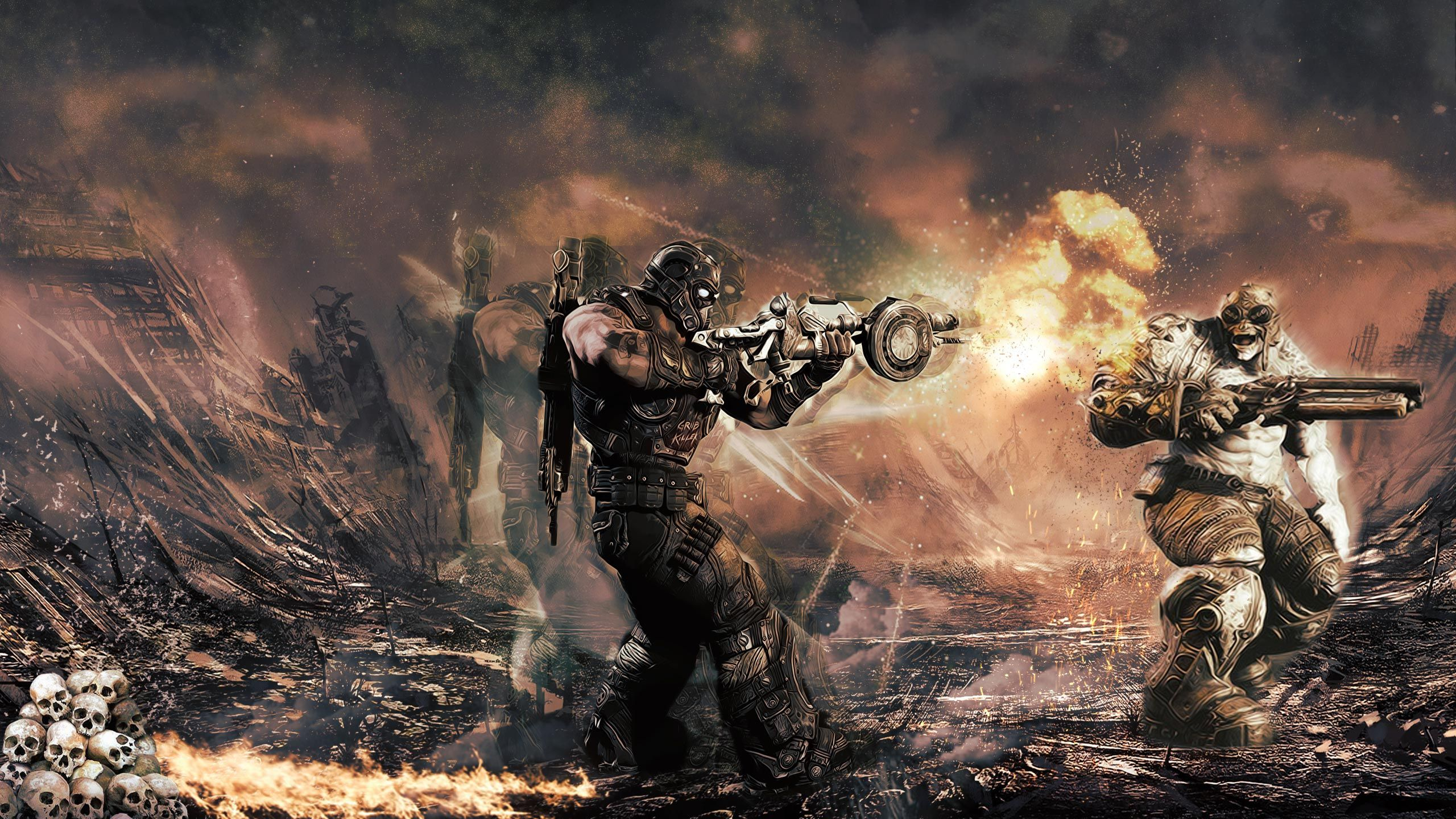 K Ultra Hd Gears Of War Wallpapers Hd Desktop Backgrounds 1920
