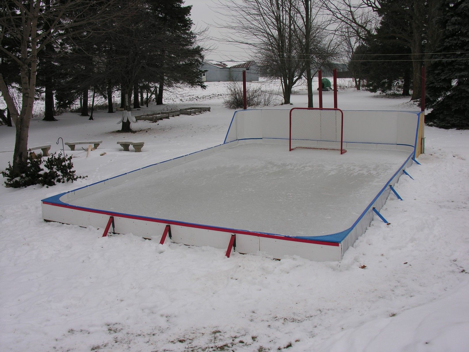 Pin by Chris Detzler on Backyard Rink | Backyard ice rink ...