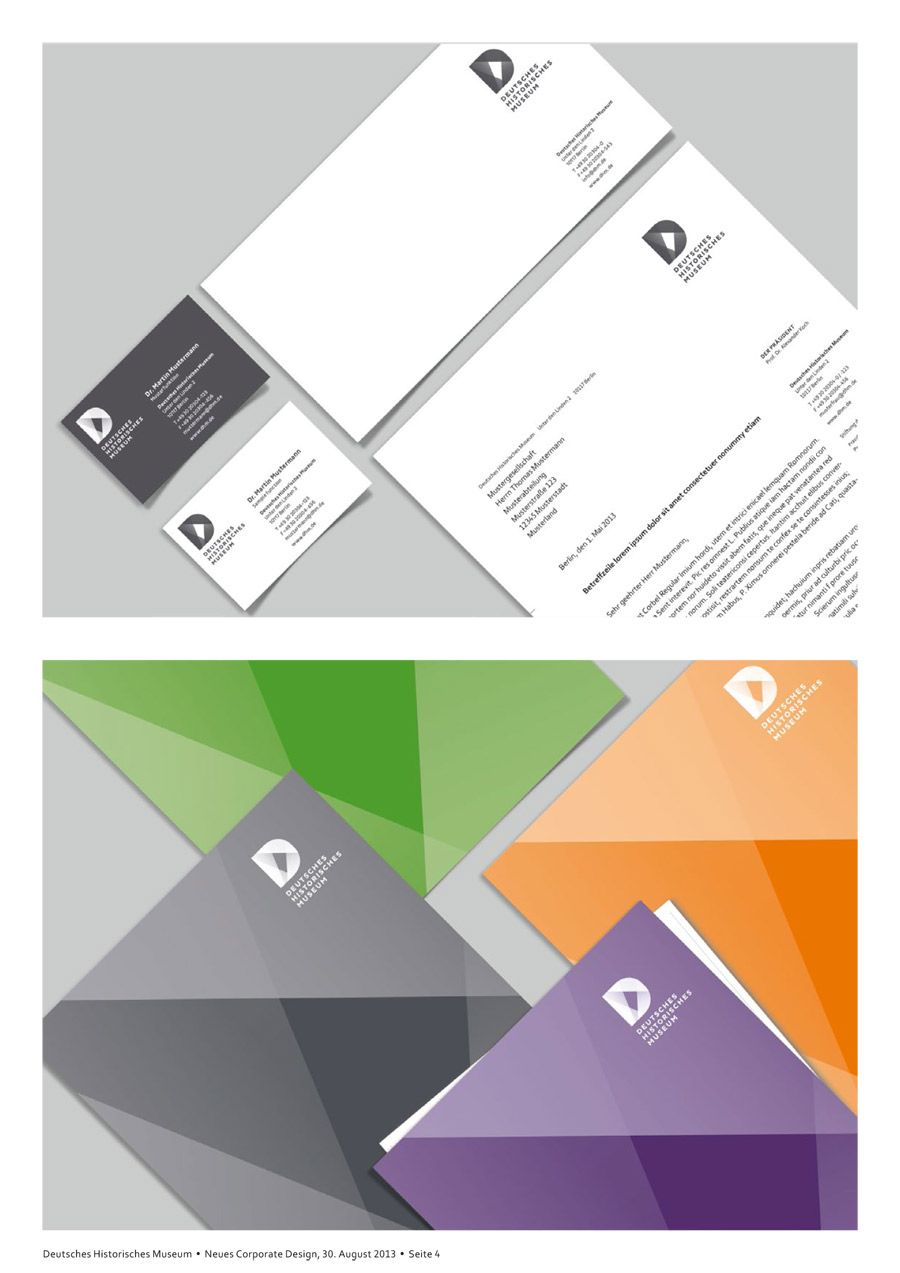 Deutsches Historisches Museum – Corporate Design