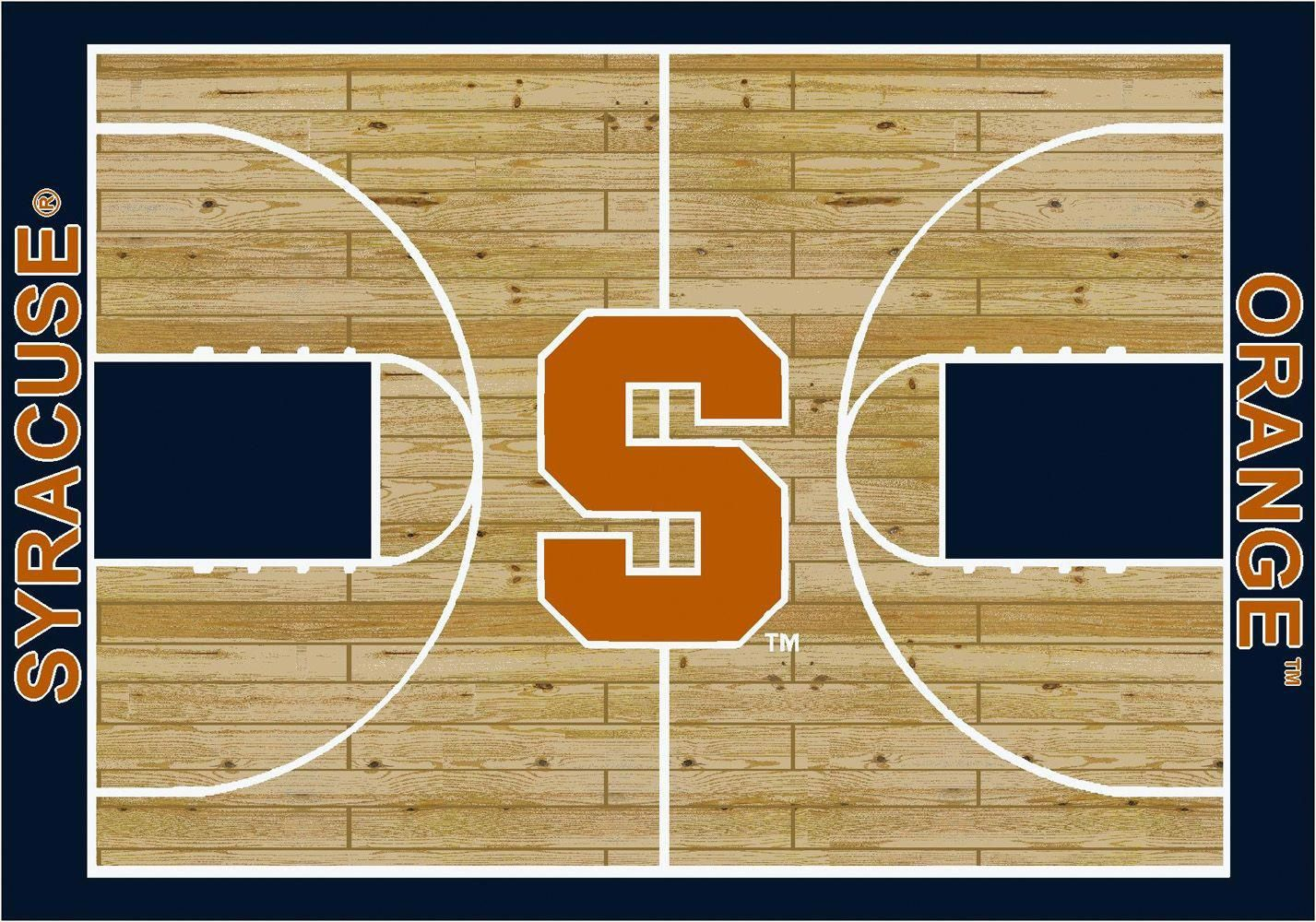 Syracuse Orange Basketball basketballcourt Novelty rugs
