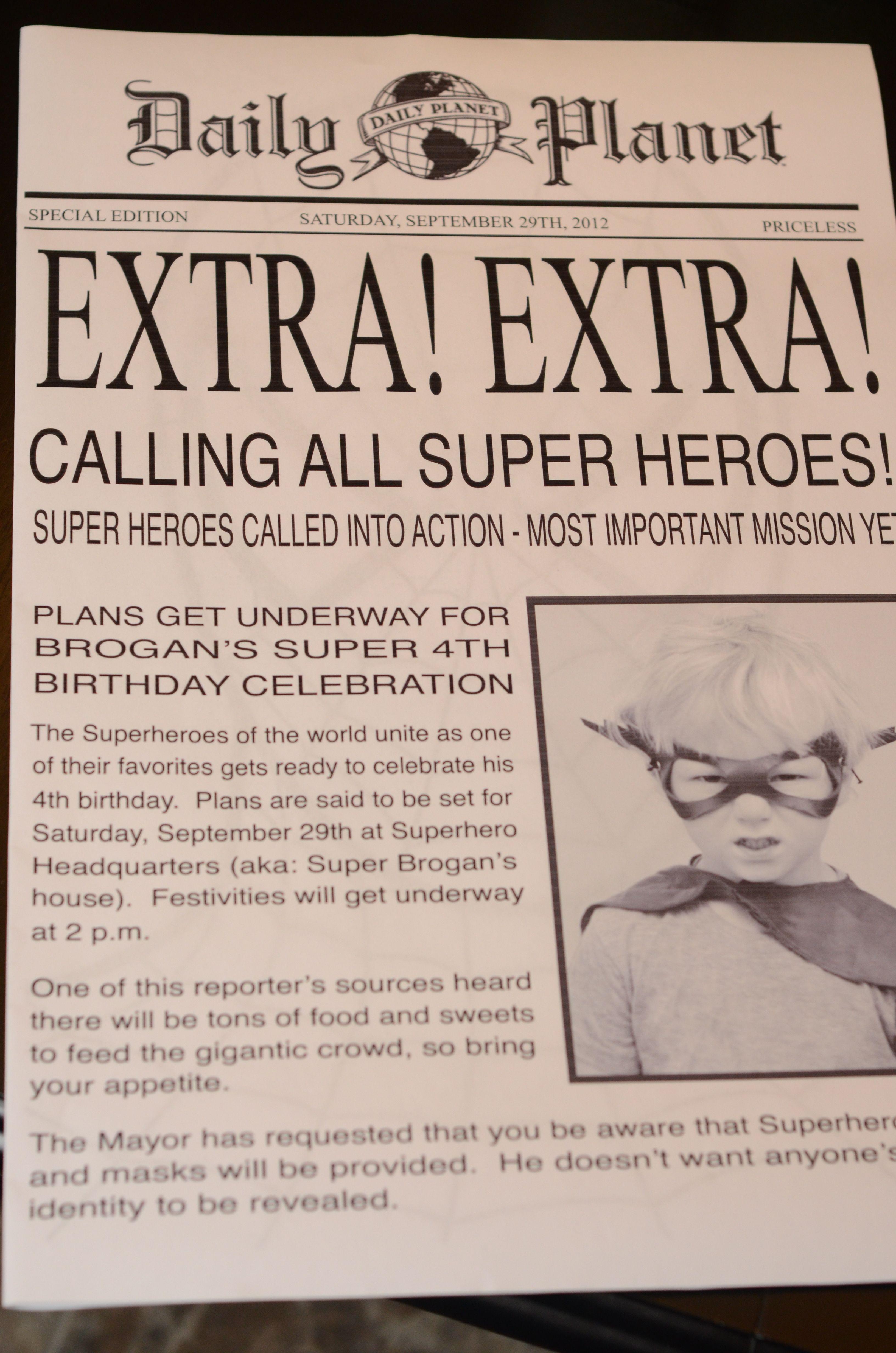 Superheros Birthday Party Ideas | Hero, Superhero and Birthdays