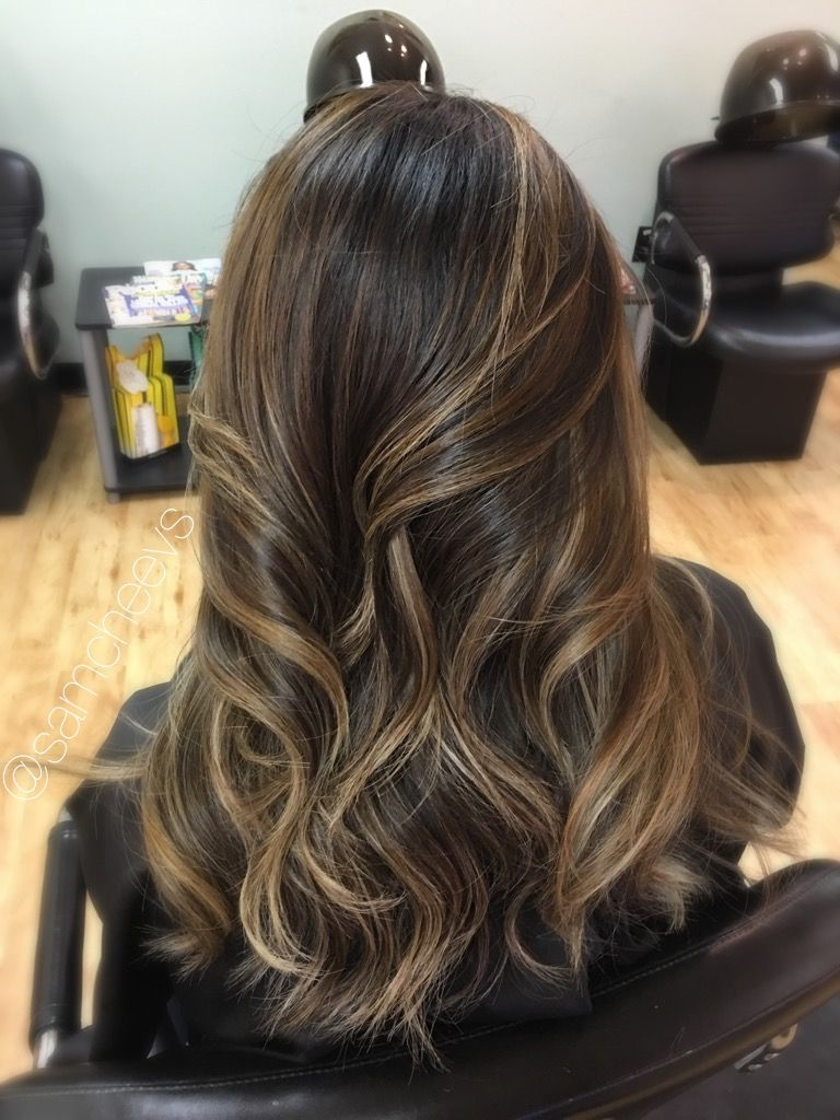 Highlights For Dark Hair Light Brown Highlights For Black Hair
