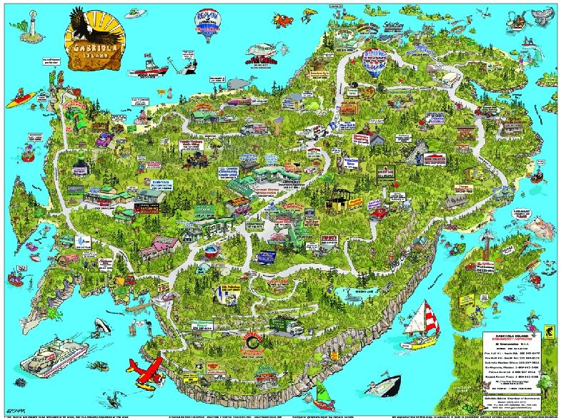Click for full sized map of Gabriola Island!