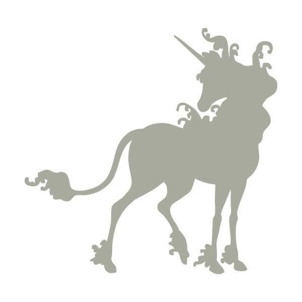 The Last Unicorn Silhouette Custom Made Vinyl Decal Sticker For - Custom made vinyl decals