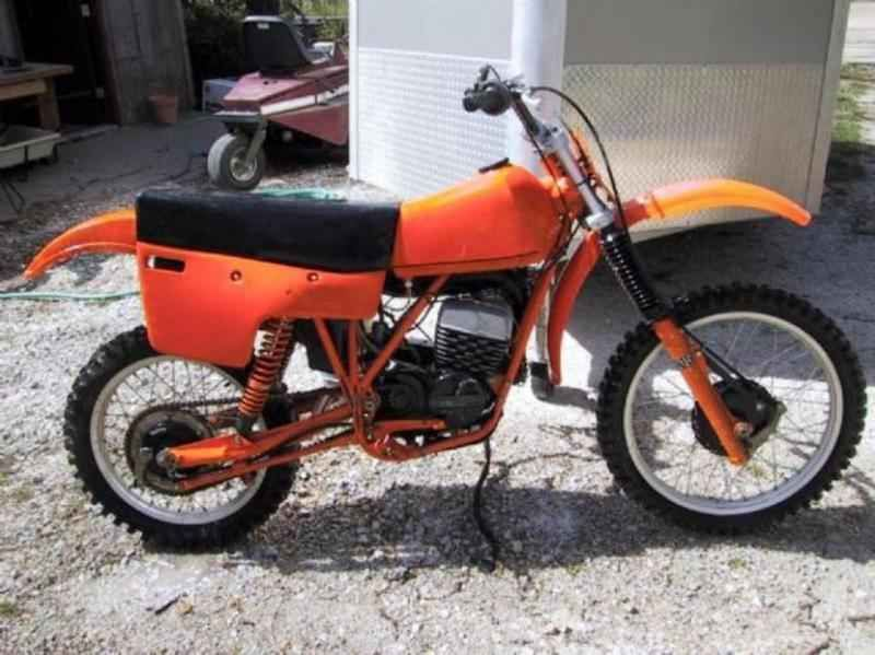 1980 CanAm MX6 125 Can am, Canning, Can am spyder