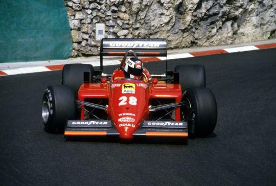 Stefan Johansson  Ferrari 1985
