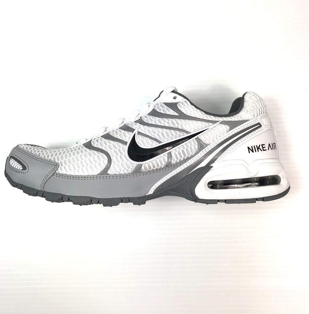 2ddd5c9d3e2 Nike Air Max Torch 4 Running Training Shoes White Size 10.5 Mens 343846-100
