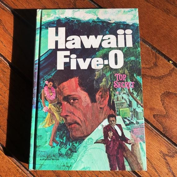 """Hawaii Five-O, Top SecretRobert Sidney BowenCover by Larry FrederickWhitman Publishing Company1969210 pages7.75""""x5.25""""x0.75""""Hardcover book in good to very good condition Nice artwork covers.Pages have tanned a little with age.Please see the photos for condition and please write with any questions."""