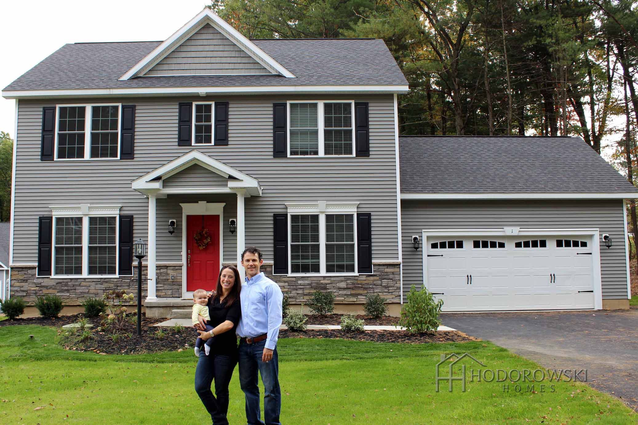 These Lovely Homeowners Chose Keystone Siding And Shakes