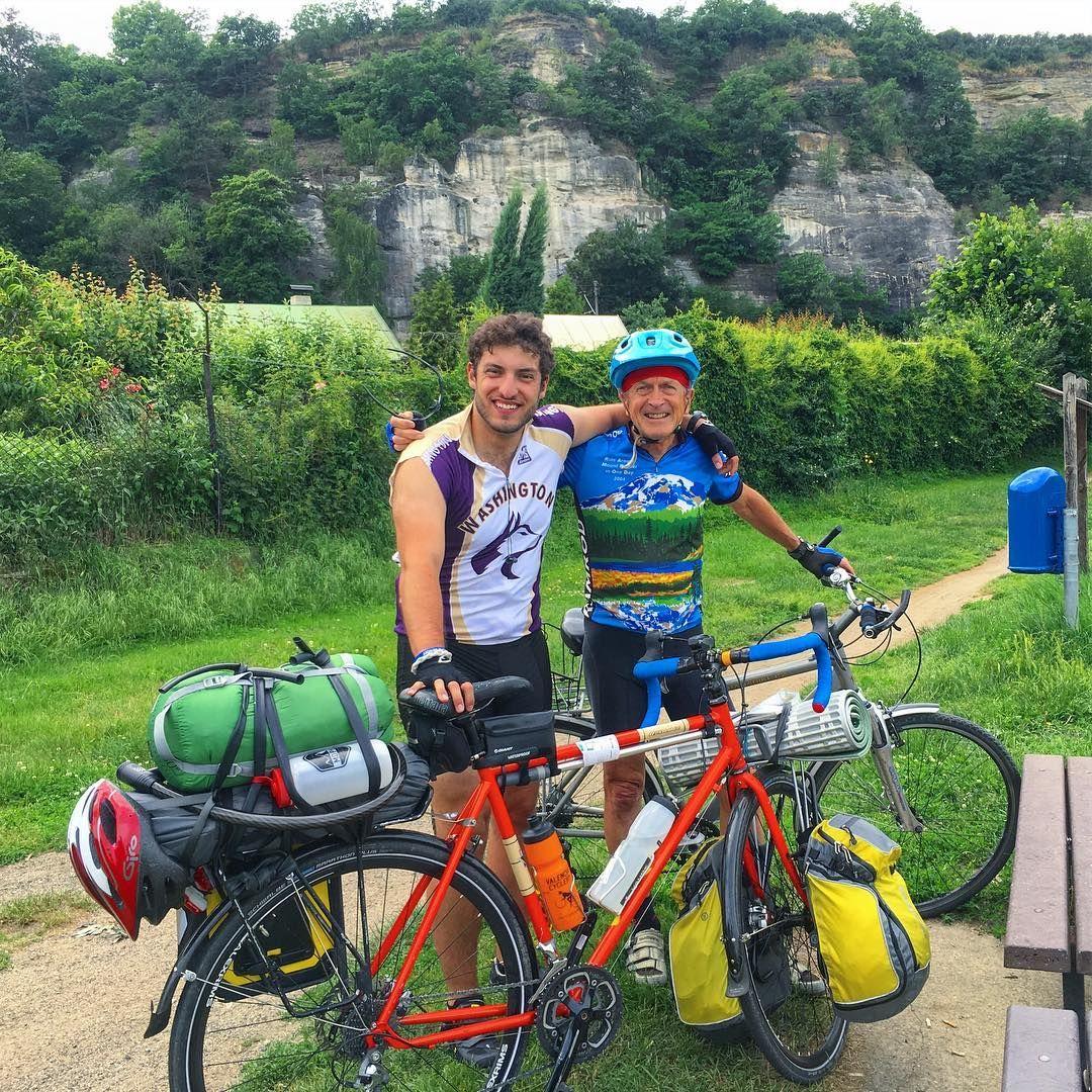 Two Seattle jerseys meet while touring in the Czech Republic - #roadslikethese #fromwhereiride #fromwhereistand #biketouring #bikecamping #bikewander #cyclotouring #halfmarathontraining #gravelgrinder #gravel #gravelbike #gravelroad #photography #iphonephotography #mobilephotography #rural #czechrepublic #landscape #seattle #flowers #solotravel #solotour #solo #adventure #soloadventure #seattleite #rideseattle http://tipsrazzi.com/ipost/1507674710975892610/?code=BTsVilgjsyC